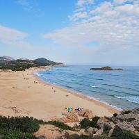 Su Giudeu beach
