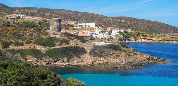 trip to Asinara island
