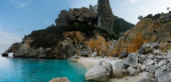 most beautiful beach Orosei gulf
