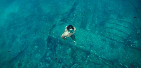 Sardinia wreck diving
