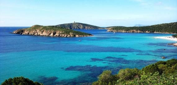 Sardinia most beautiful sea