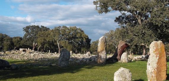 Sardinia stone structures