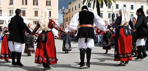 Sardinia traditional festivals: Cavalcata sarda 2016