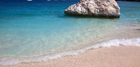 Sardinia white sand beaches