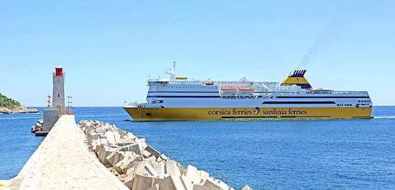 how to get to Sardinia by ferry