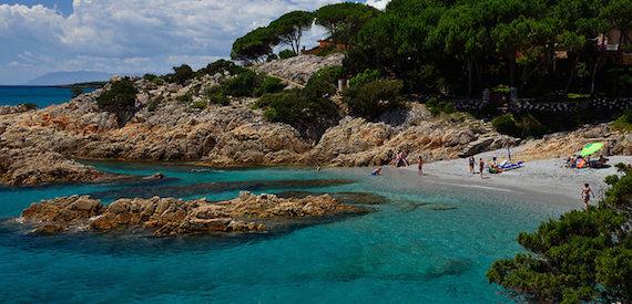 Sardinian coasts