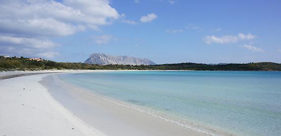 Brandinchi beach Sardinia
