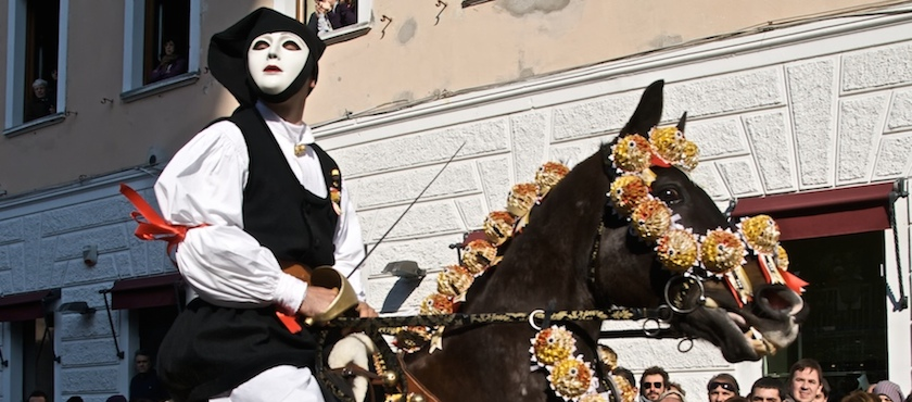 Carnival 2018 in Sardinia: Sa Sartiglia
