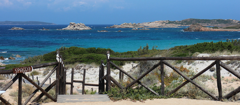 Sardinia seaside towns