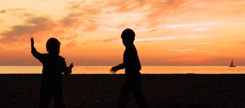 Sardinia with children