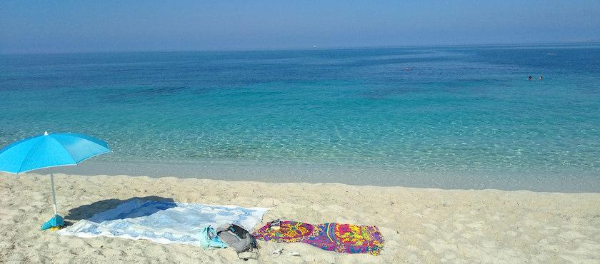 Beaches of Sardinia in September
