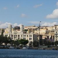 itinerario quartiere Marina Cagliari