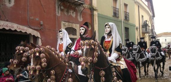 Carnevale 2016 in Sardegna