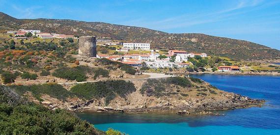 fare il bagno all'Asinara