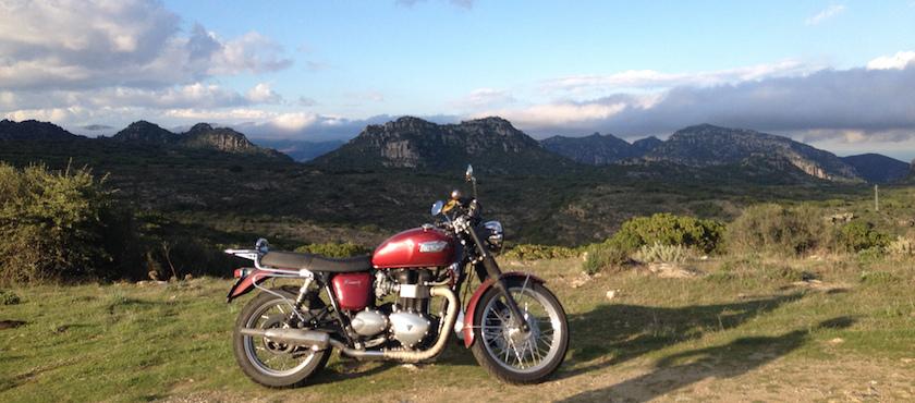 dove andare in Sardegna in moto